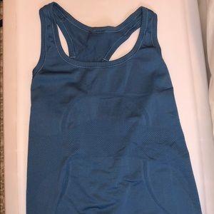 Lululemon blue activewear tank top